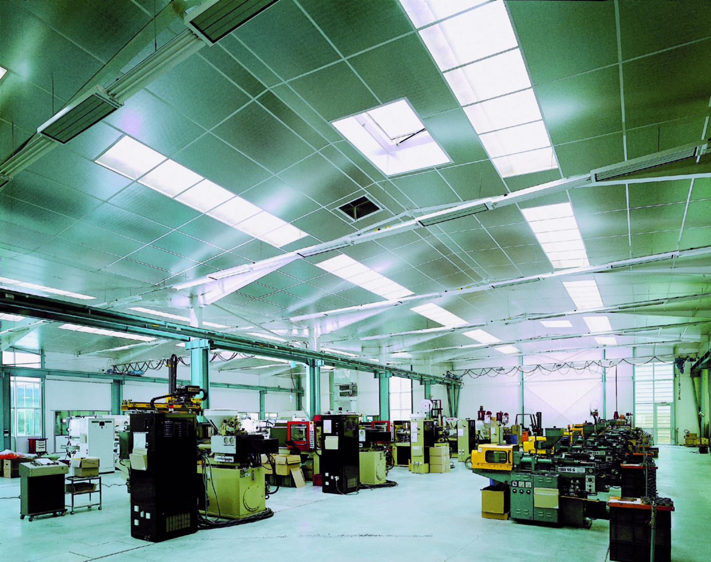 Faux Plafond Suspendu En Dalles Isolantes shedisol alu : panneau laine de verre