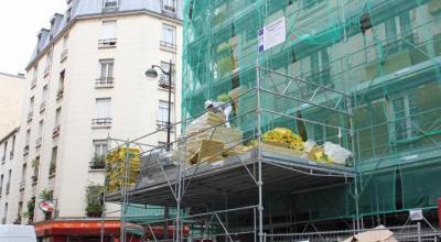 Rénovation énergétique des combles et des murs de la résidence sociale Mont-Louis