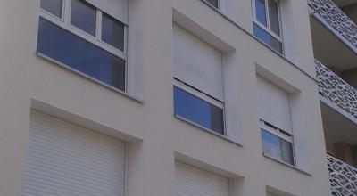 Isolation thermique logement collectif : Vue extérieure
