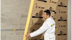 Isolant GR 32 pour l'isolation des murs en maison neuve