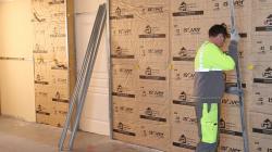isover gr32 pour l 39 isolation des murs. Black Bedroom Furniture Sets. Home Design Ideas