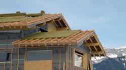 Isolation de la toiture par l'extérieur en neuf avec ISOVER