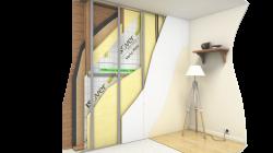 Etanchéité à l'air des murs à ossature bois : isomob_isonconfort_mur_ossature_bois