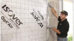 Isover gr32 pour l 39 isolation des murs - Membrane opt air ...