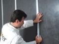 Isolation acoustique murs par l'intérieur : pose de l'appui Optima Sonic