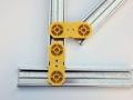 Assemblage des fourrures métalliques en combles et en mur avec Connector Optima