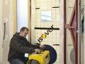 Mesure de l'étanchéité à l'air : utilisation de la machine Isov'air Test