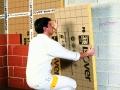 Laine de verre PB 38 Revêtu Kraft pour l'isolation des murs : mise en oeuvre