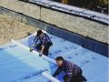 Etanchéité et isolation des toitures : pose de Roomate MK