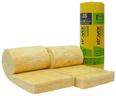 Isolation des bardages en laine de verre haute performance avec Cladirol 35