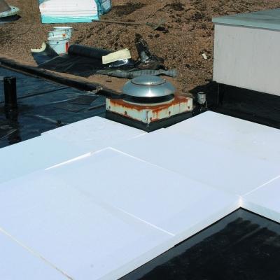Isolation thermique toiture sur bac acier : pose de Epsitoit Acier