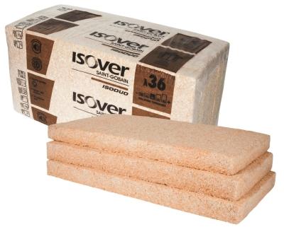 Laine minérale fibres de bois : Isoduo 36