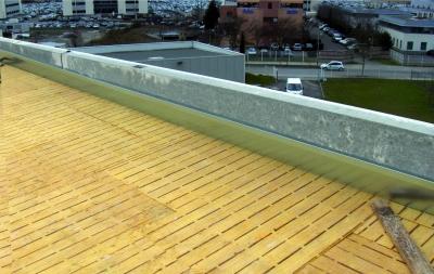 Support d'étanchéité Panotoit Confort 900 : isolation toiture