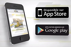 Application mobile : Solution d'isolation ISOVER