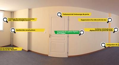 Mise en oeuvre Optima Murs, isolation thermique des murs