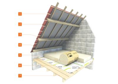 isolation des combles perdus avec un isolant d rouler sur plancher. Black Bedroom Furniture Sets. Home Design Ideas