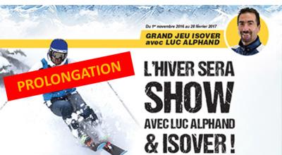 L'hiver au show avec ISOVER - liste