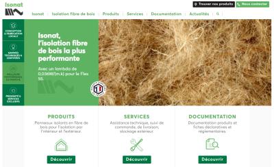 Nouveau site ISONAT.FR