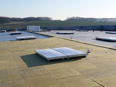 Isolation des toitures innacessibles