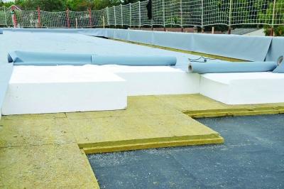 Isolation des toitures ou zones techniques