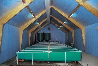 Isolation des toitures de locaux agricoles