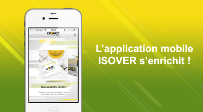 L'application mobile ISOVER s'enrichit