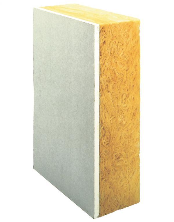 Isolation des murs par l'intérieur : doublage en laine de verre Calibel SPV 10