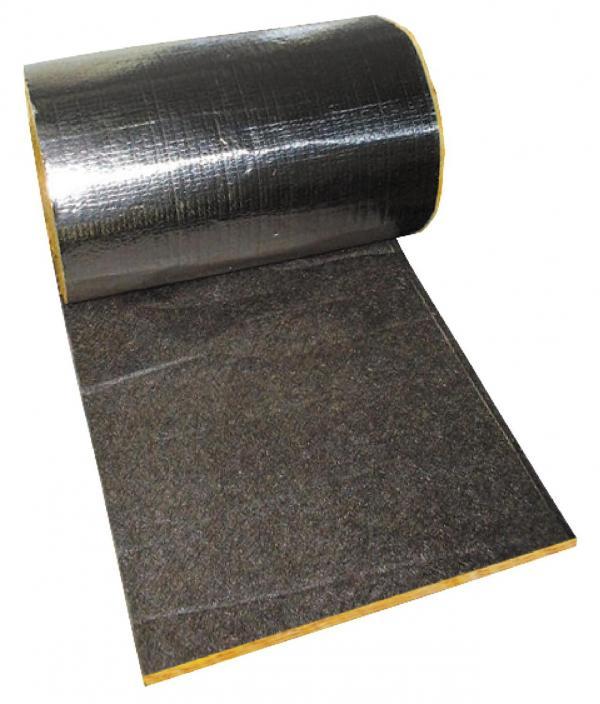 Isolation acoustique bardages double peau : Rouleau de laine de verre Cladacoustic