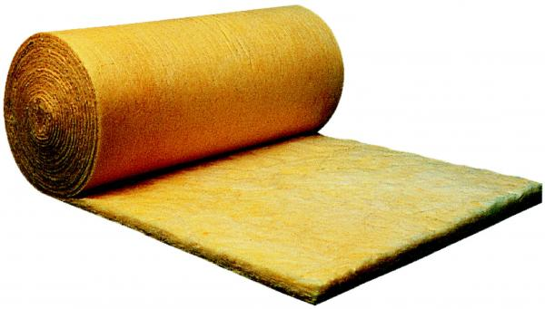 Isolation des toitures : Feutre en laine de verre pour bardages métalliques