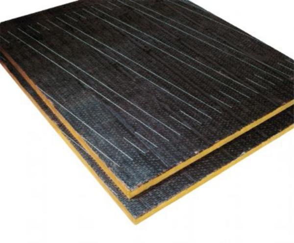 Panneau de laine de roche support d'étanchéité surfacé bitume : IXXO