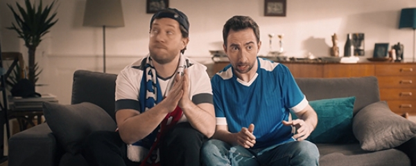 Actu Campagne Pub TV Foot Isover - home