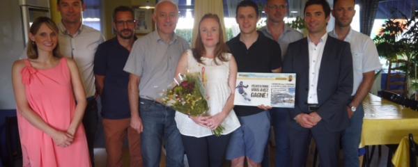 Le lauréat du grand jeu Intégra 2 ISOVER