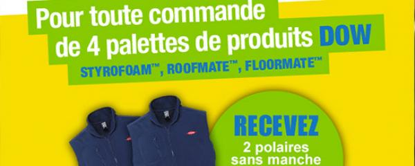 Promo dow actu ISOVER home