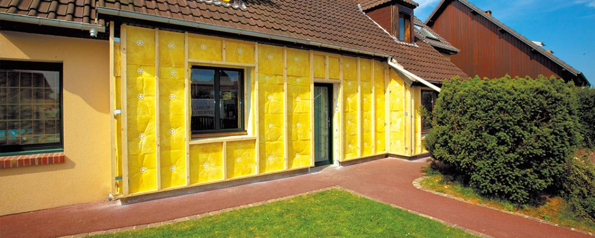 isolation maison individuelle par l'extérieur
