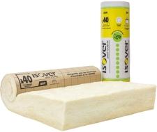 Isolation des combles perdus : laine de verre souple IBR Revêtu Kraft