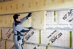 Etanchéité à l'air des maisons ossature bois solutions ISOVER