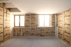 Isolation des murs par l'intérieur ISOVER