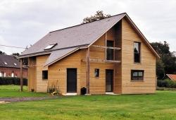 Maisons ossature bois isolation thermique par ISOVER