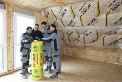 Maison ossature bois isolation thermique et isolation acoustique de la toiture