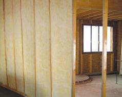 Maison ossature bois Isolation acoustique des cloisons