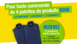 Promo dow actu ISOVER liste