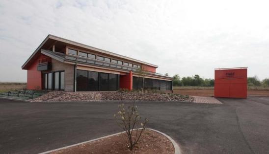 Construction d'un bâtiment de bureaux HQE à Neufchâteau