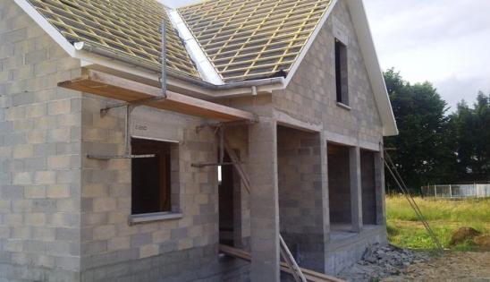 Isolant en fibre composite : Maison individuelle neuve avec Isoduo 36