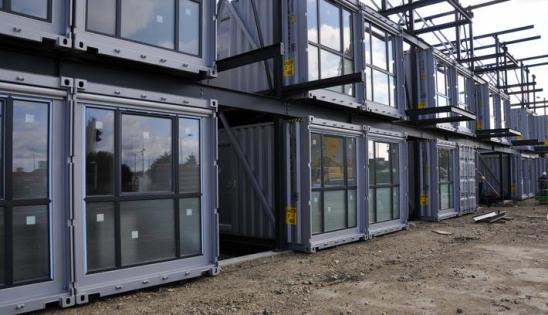 Isolation par l'intérieur avec Optima Murs : containers