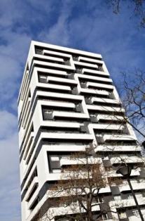 Rénovation logements collectifs : Vue extérieure des Tours Curial