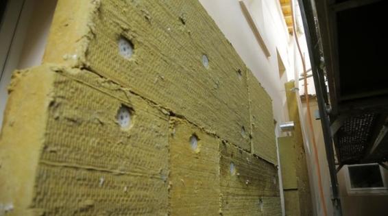 Isolation extérieure des murs avec l'isolant Isover TF