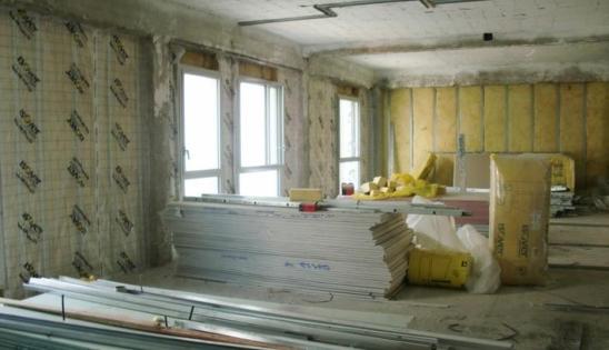 Réhabilitation et isolation : mise en œuvre doublage intérieur avec la membrane d'étanchéité Vario Duplex