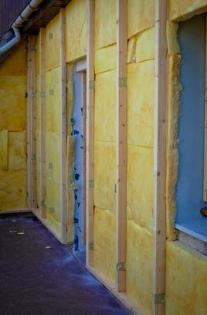 Pose de l'isolation par l'extérieur : rénovation