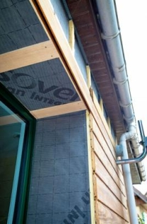 Isolation par l'extérieur (ITE) : rénovation et agrandissement