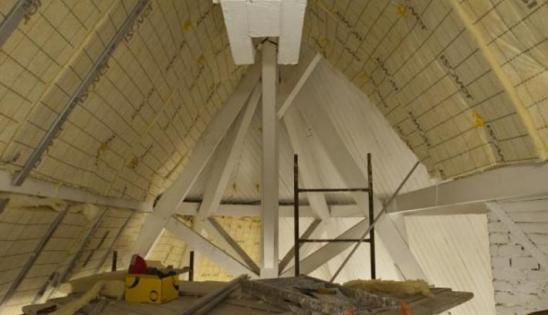 Isolation par l'intérieur d'un hôtel particulier : rénovation